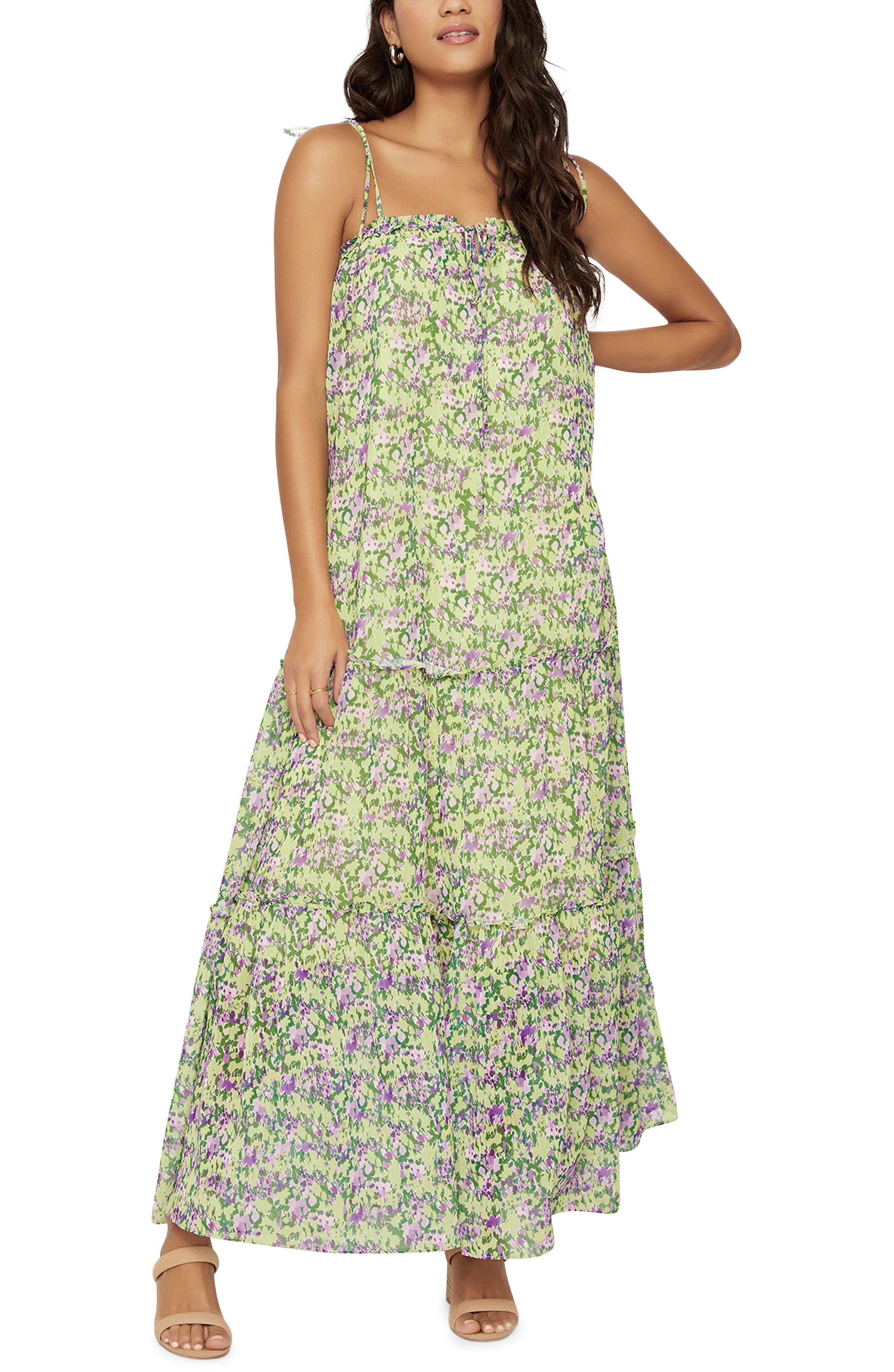 Women's Lost + Wander Matisse Dream Floral Maxi Dress