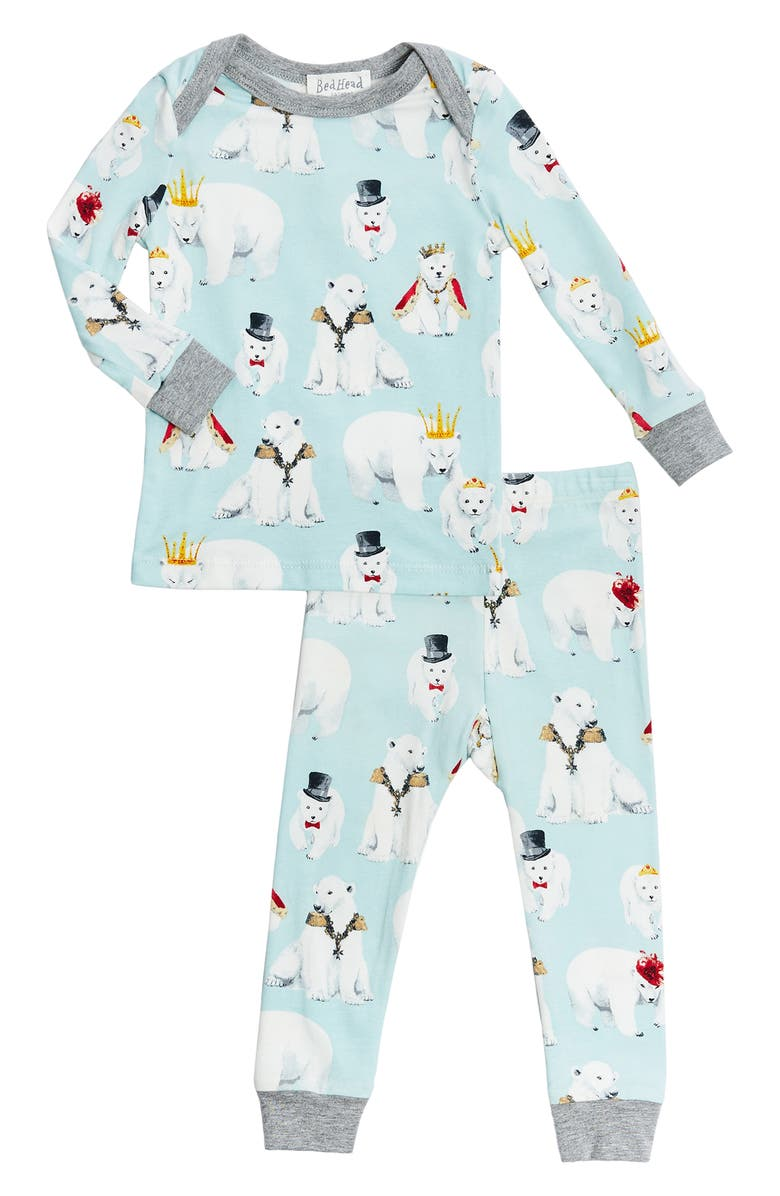 BEDHEAD PAJAMAS Boo Boo Fitted Two-Piece Pajamas, Main, color, 256