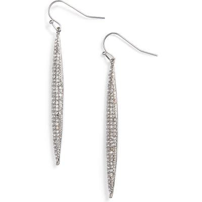 Vince Camuto Crystal Pave Linear Drop Earrings