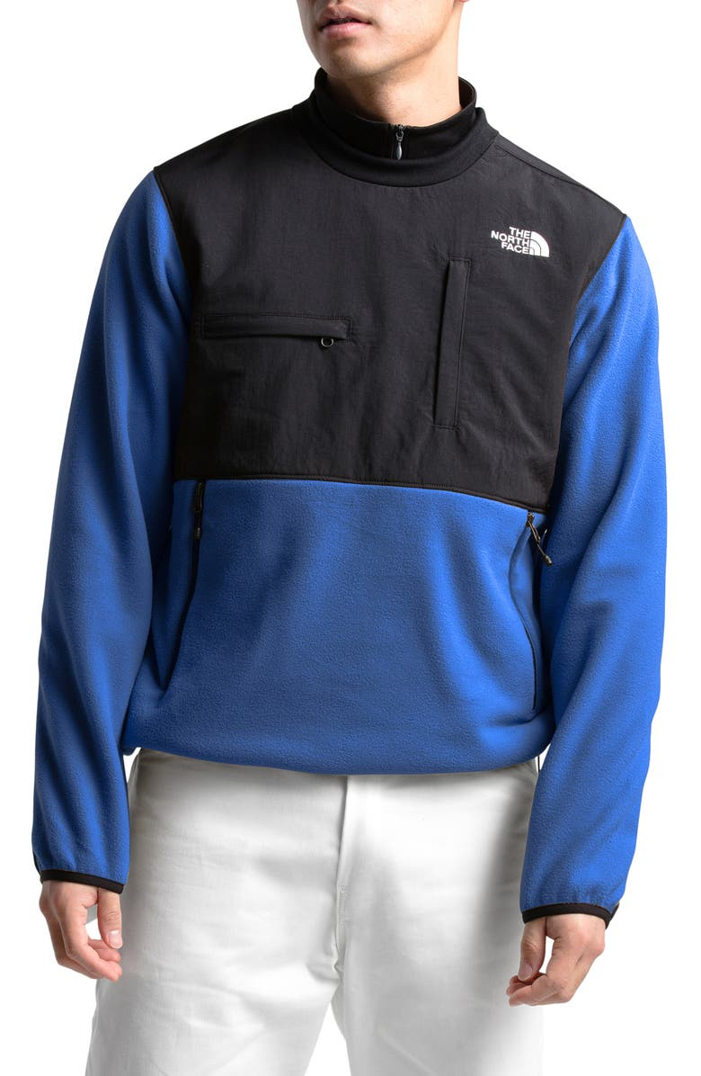 THE NORTH FACE Denali Durable Water Repellent Pullover, Main, color, TNF BLUE