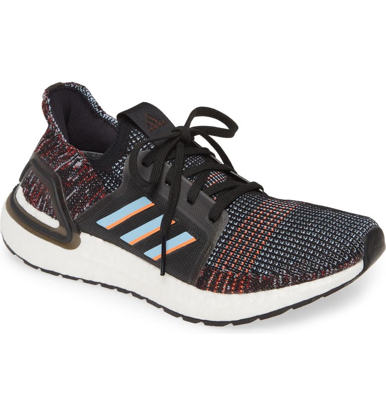 ADIDAS UltraBoost 19 Running Shoe, Main, color, MULTI BLACK