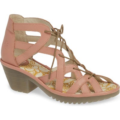 Fly London Want Sandal - Pink