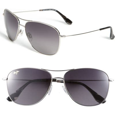 Maui Jim Cliff House 5m Polarizedplus2 Metal Aviator Sunglasses -