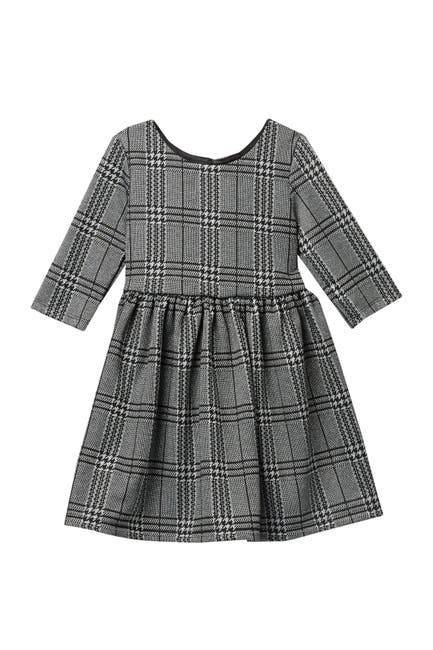 Image of Pastourelle by Pippa and Julie Metallic Houndstooth Skater Dress