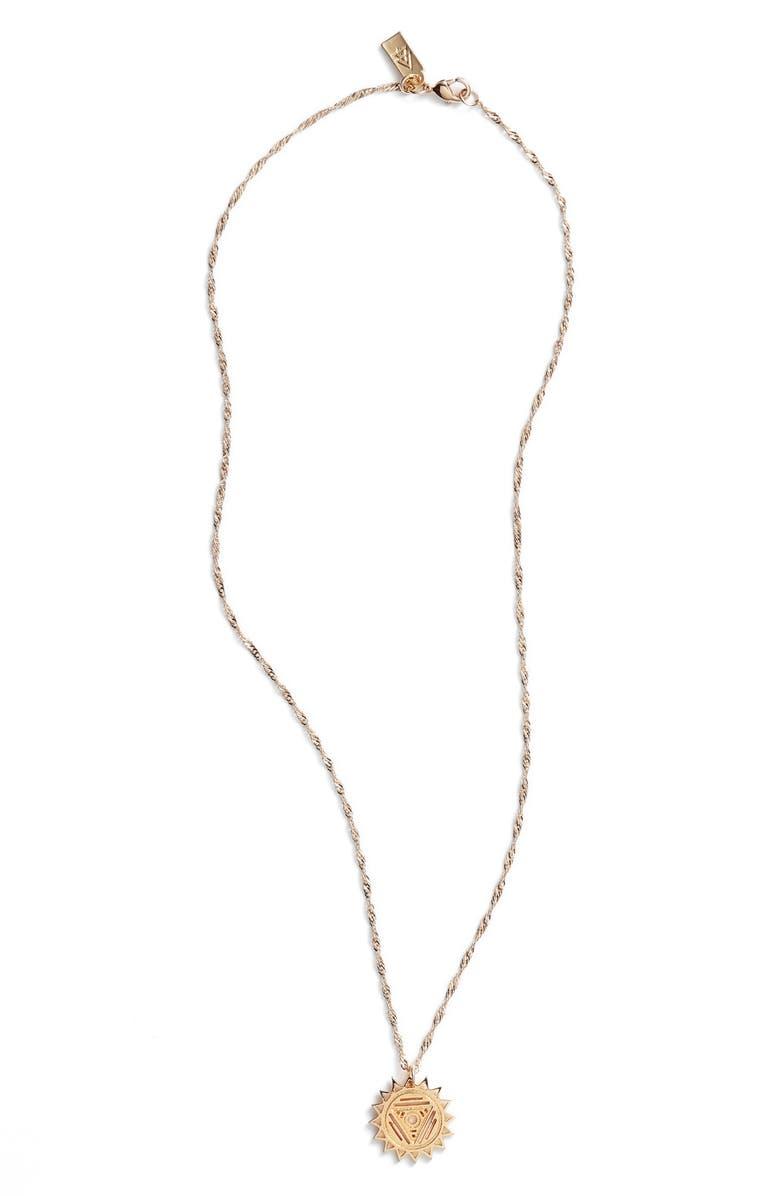 CAM Chakra Pendant Necklace, Main, color, 710