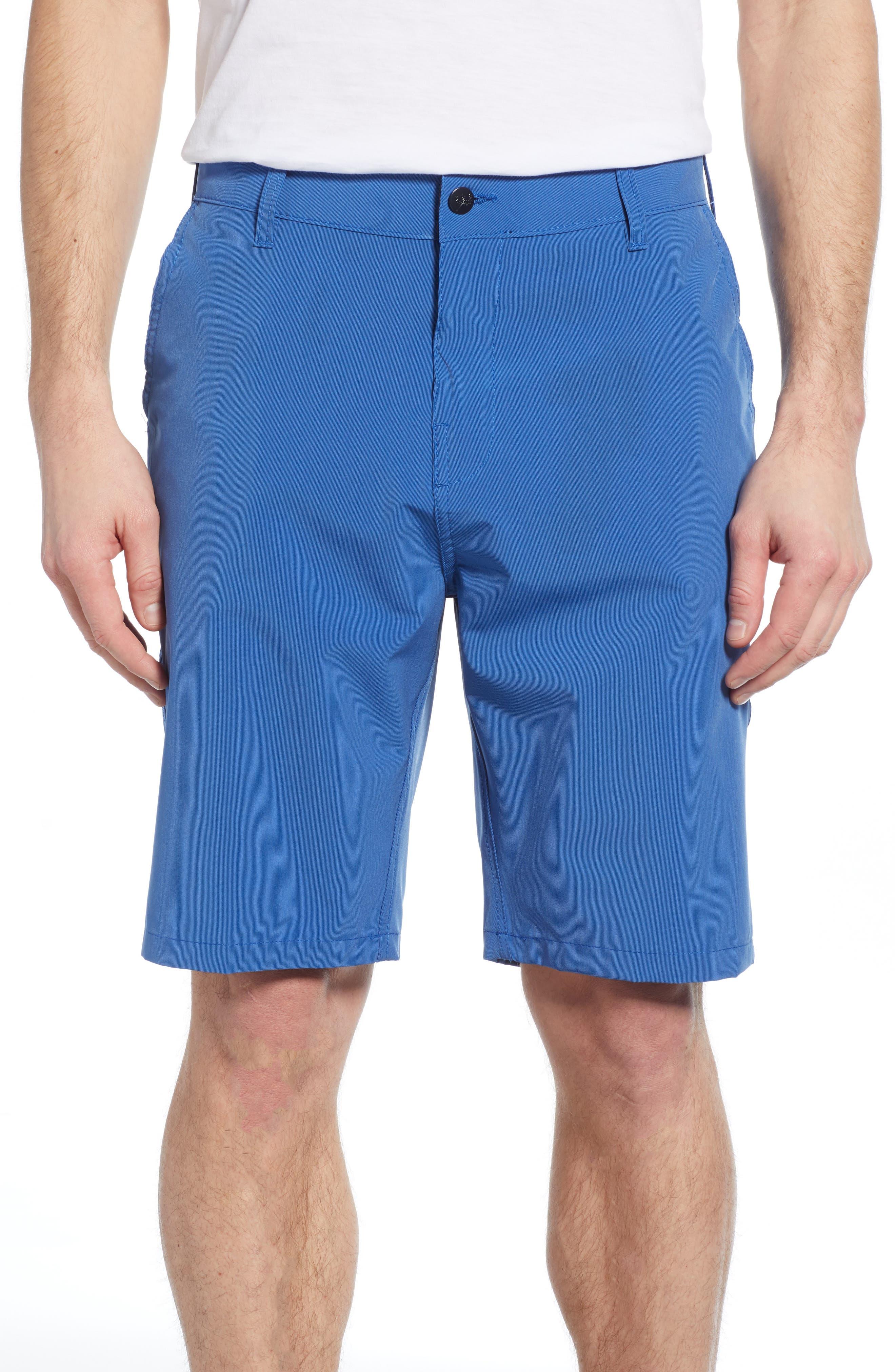 Trunks Surf & Swim Co. Hybrid Board Shorts, Blue