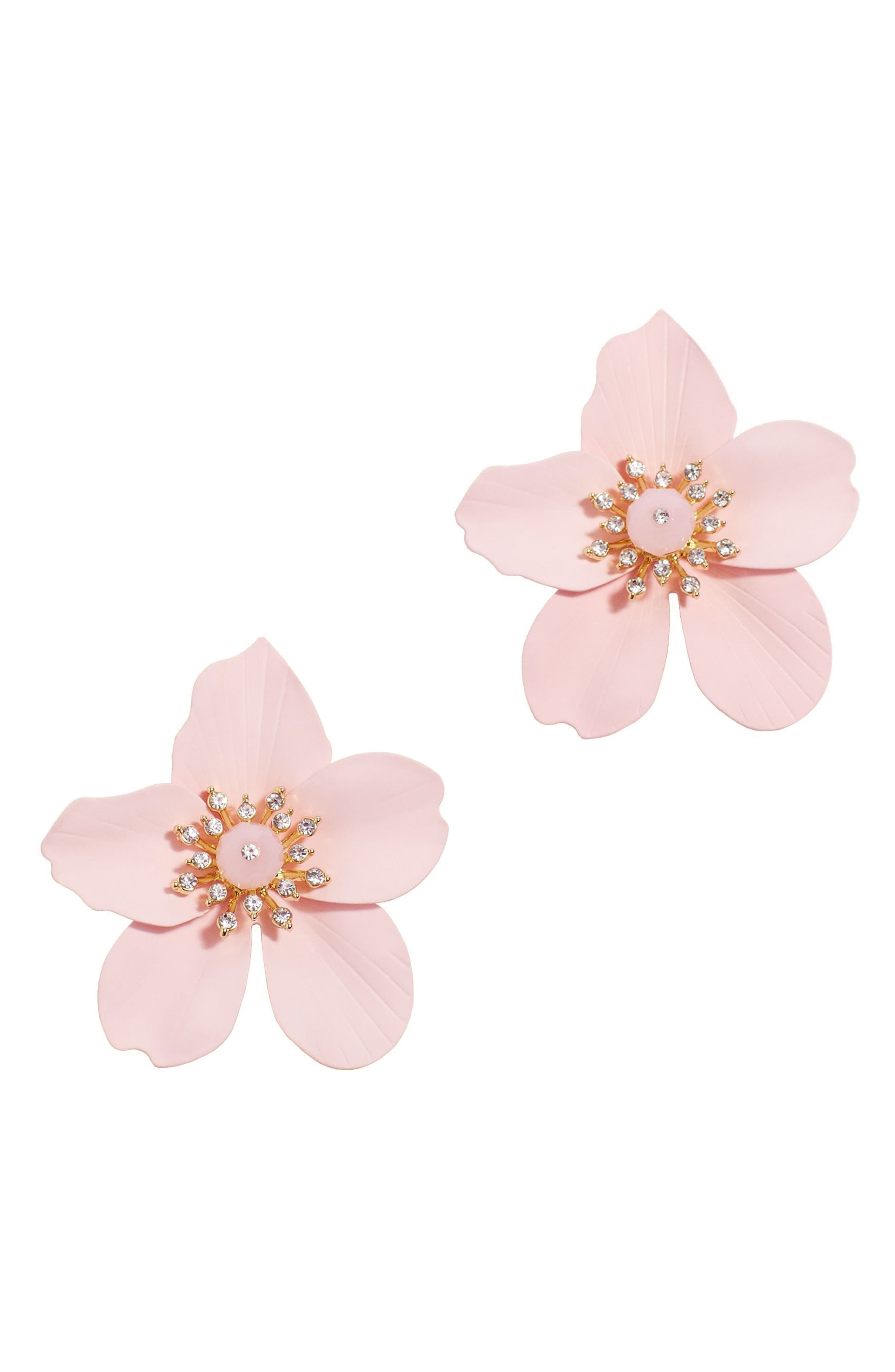 ,                             Oversize Orchid Earrings,                             Main thumbnail 2, color,                             650