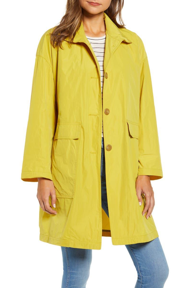 MYCRA PAC Big Easy Krush Raincoat, Main, color, CITRON