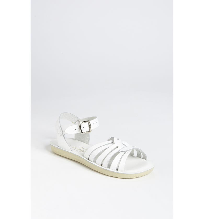 SALT WATER SANDALS BY HOY Strappy Sandal, Main, color, WHITE