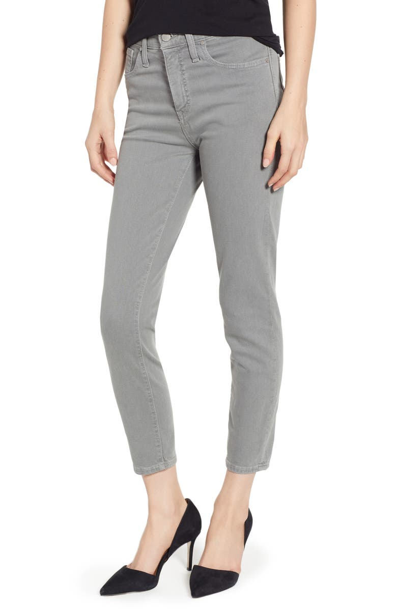 CASLON<SUP>®</SUP> Sierra High Waist Ankle Skinny Pants, Main, color, 021
