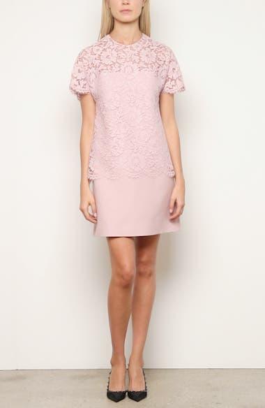 Lace & Crepe Couture Minidress, video thumbnail