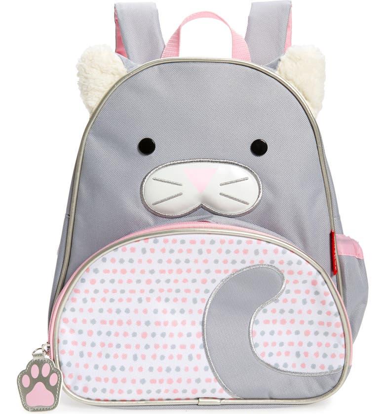 SKIP HOP Zoo Pack Cat Backpack, Main, color, MULTI