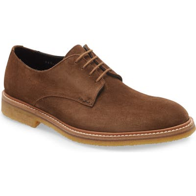 To Boot New York Park Plain Toe Derby- Brown