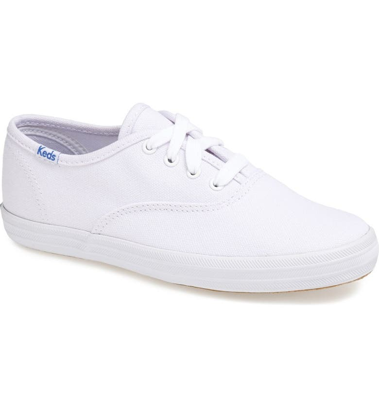 KEDS<SUP>®</SUP> 'Champion' Canvas Sneaker, Main, color, NEW WHITE