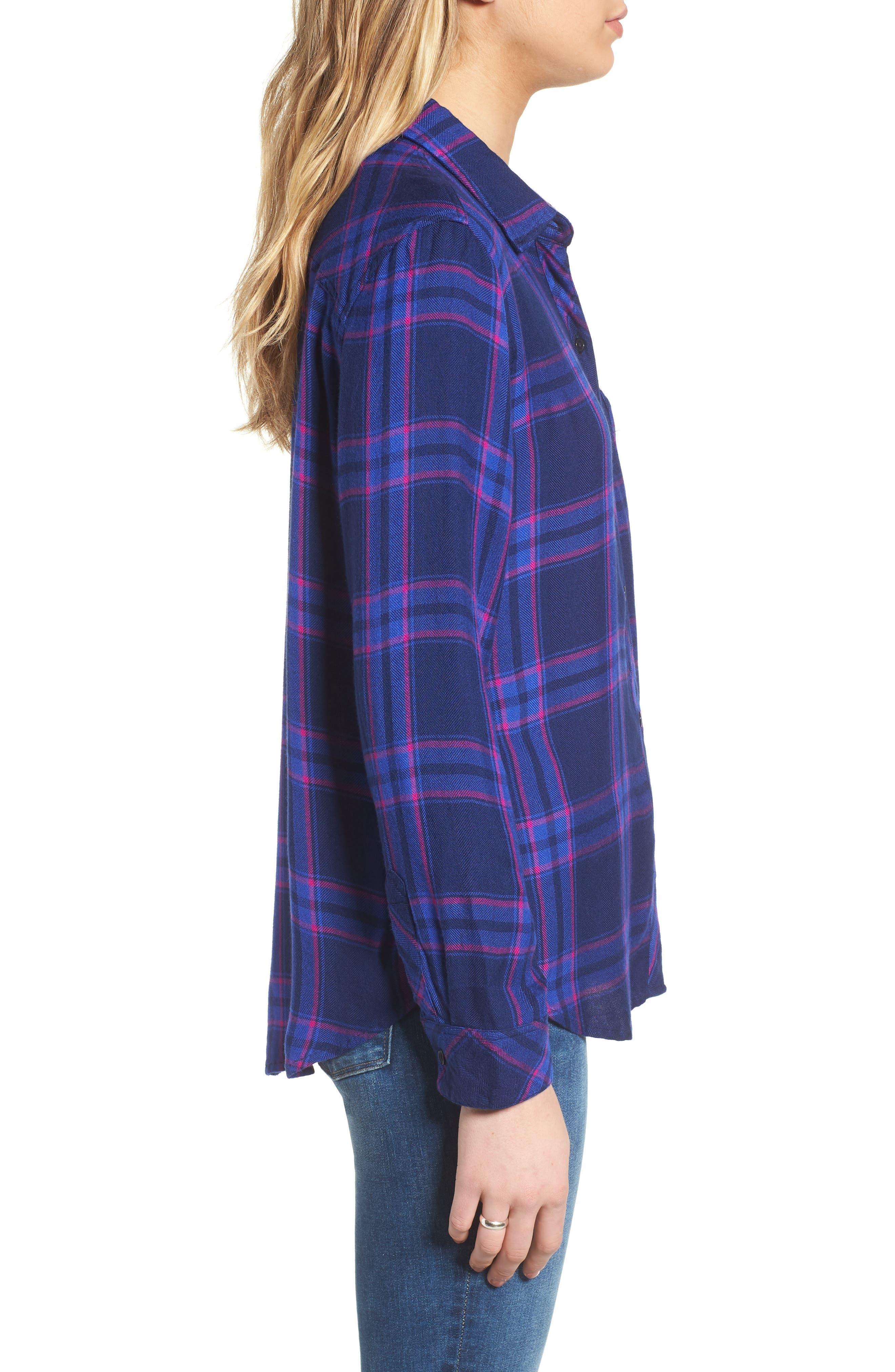 ,                             Hunter Plaid Shirt,                             Alternate thumbnail 458, color,                             405