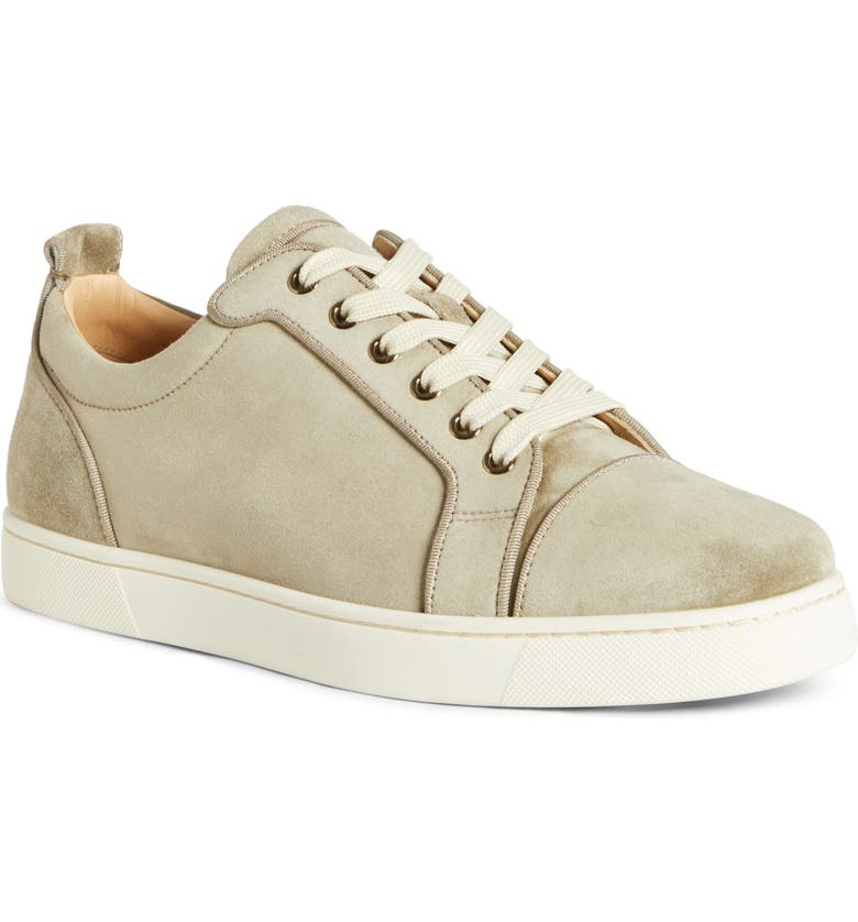 CHRISTIAN LOUBOUTIN Louis Junior Orlato Sneaker, Main, color, POIVRE VERT