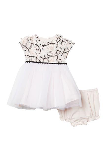 Image of Pippa & Julie Cap Sleeve Embellished Ballerina Dress