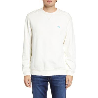 Tommy Bahama Tobago Bay Crewneck Sweatshirt, White