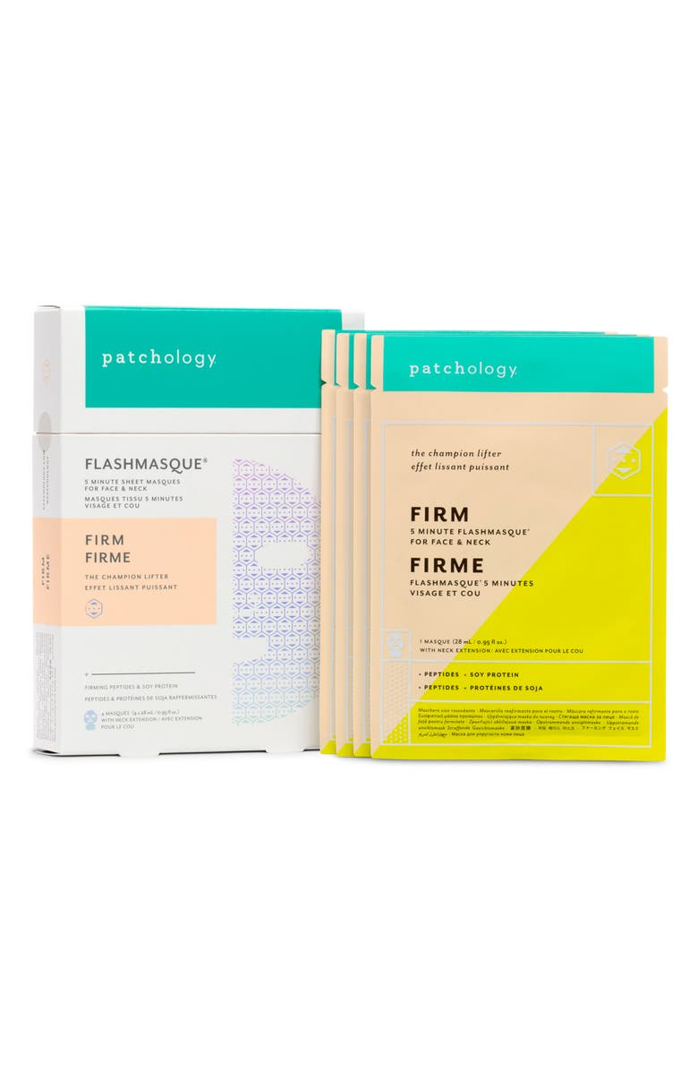 Patchology FlashMasque Firm 5 Minute Face Neck Sheet Mask