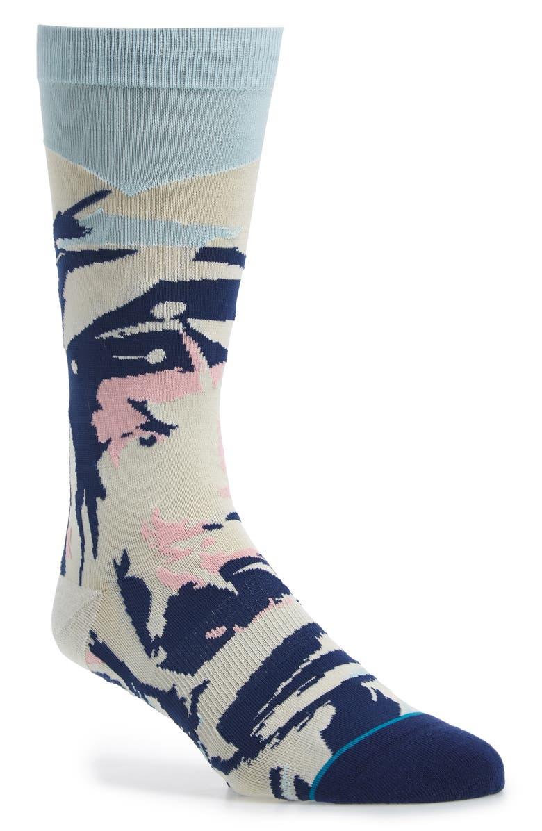 STANCE Pilot Socks, Main, color, BLUE