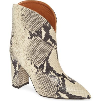 Paris Texas Ankle Bootie, Beige
