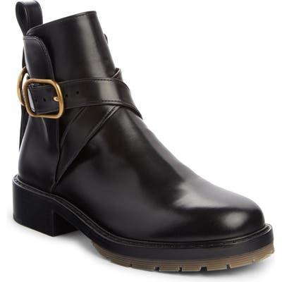 Chloe Diane Buckle Boot, Black
