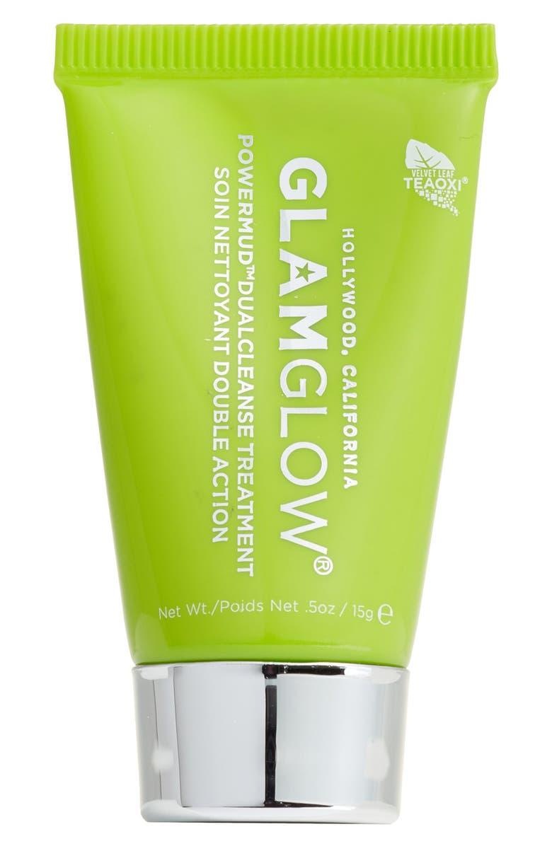 GLAMGLOW<SUP>®</SUP> POWERMUD<sup>™</sup> Dual Cleanse Treatment, Main, color, 000