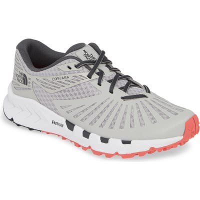 The North Face Corvara Trail Running Sneaker- Grey