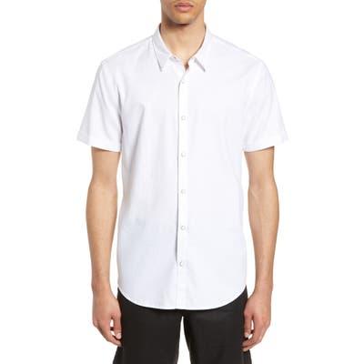 John Varvatos Star Usa Clark Slim Fit Shirt, White