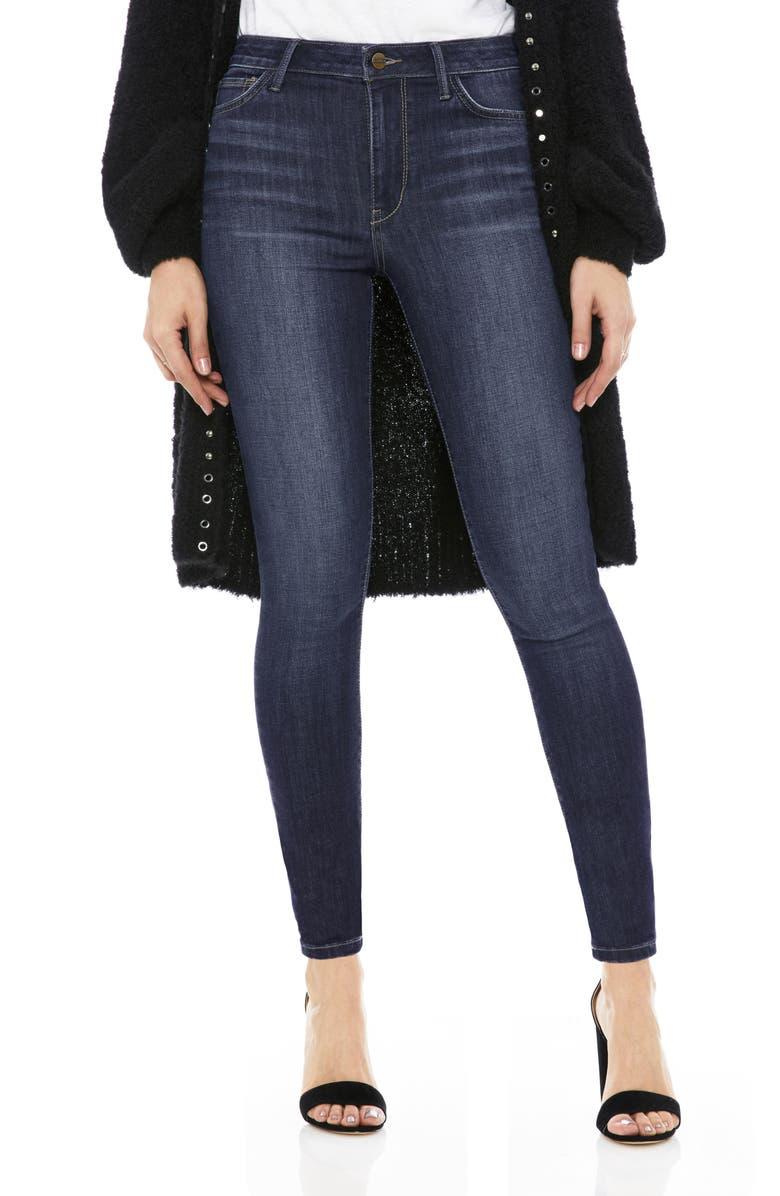 SAM EDELMAN The Stiletto High Rise Skinny Jeans, Main, color, FAYE