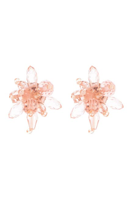 Image of kate spade new york flower stud earrings