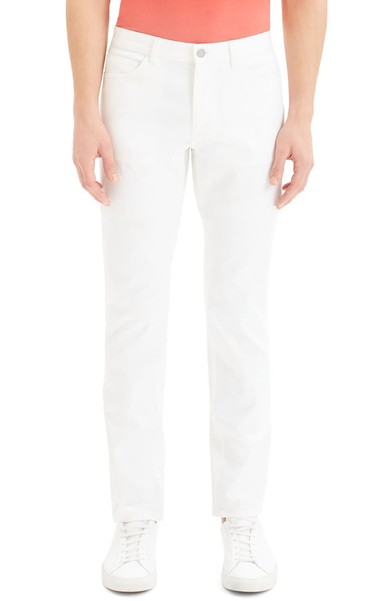 THEORY Haydin New Writer Slim Fit Pants, Main, color, 100
