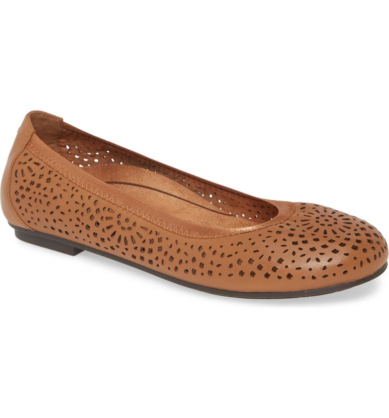 VIONIC Robyn Flat, Main, color, TOFFEE