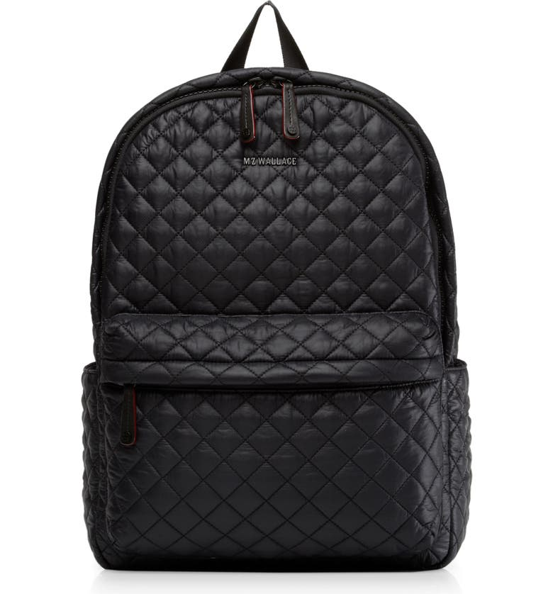 MZ WALLACE Metro Backpack, Main, color, BLACK