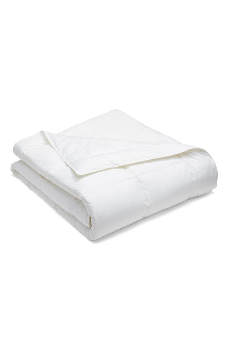 NORDSTROM AT HOME Black Series 300 Thread Count PrimaLoft<sup>®</sup> Comforter, Main, color, WHITE