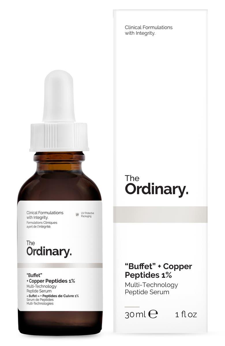 THE ORDINARY Buffet + Copper Peptides 1%, Main, color, 960