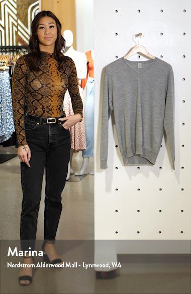 Merino Wool & Silk Tipped Sweater, sales video thumbnail