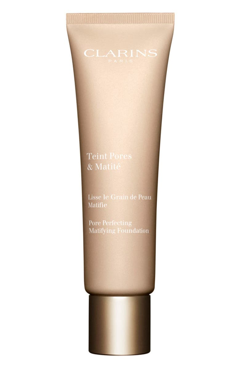 CLARINS Pore Perfecting Matifying Foundation, Main, color, NUDE AMBER