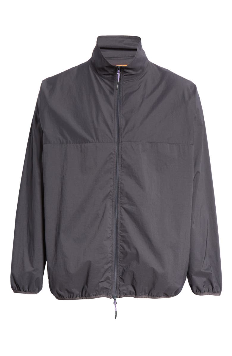 BEAMS Stretch Woven Track Jacket, Main, color, CHARCOAL GREY