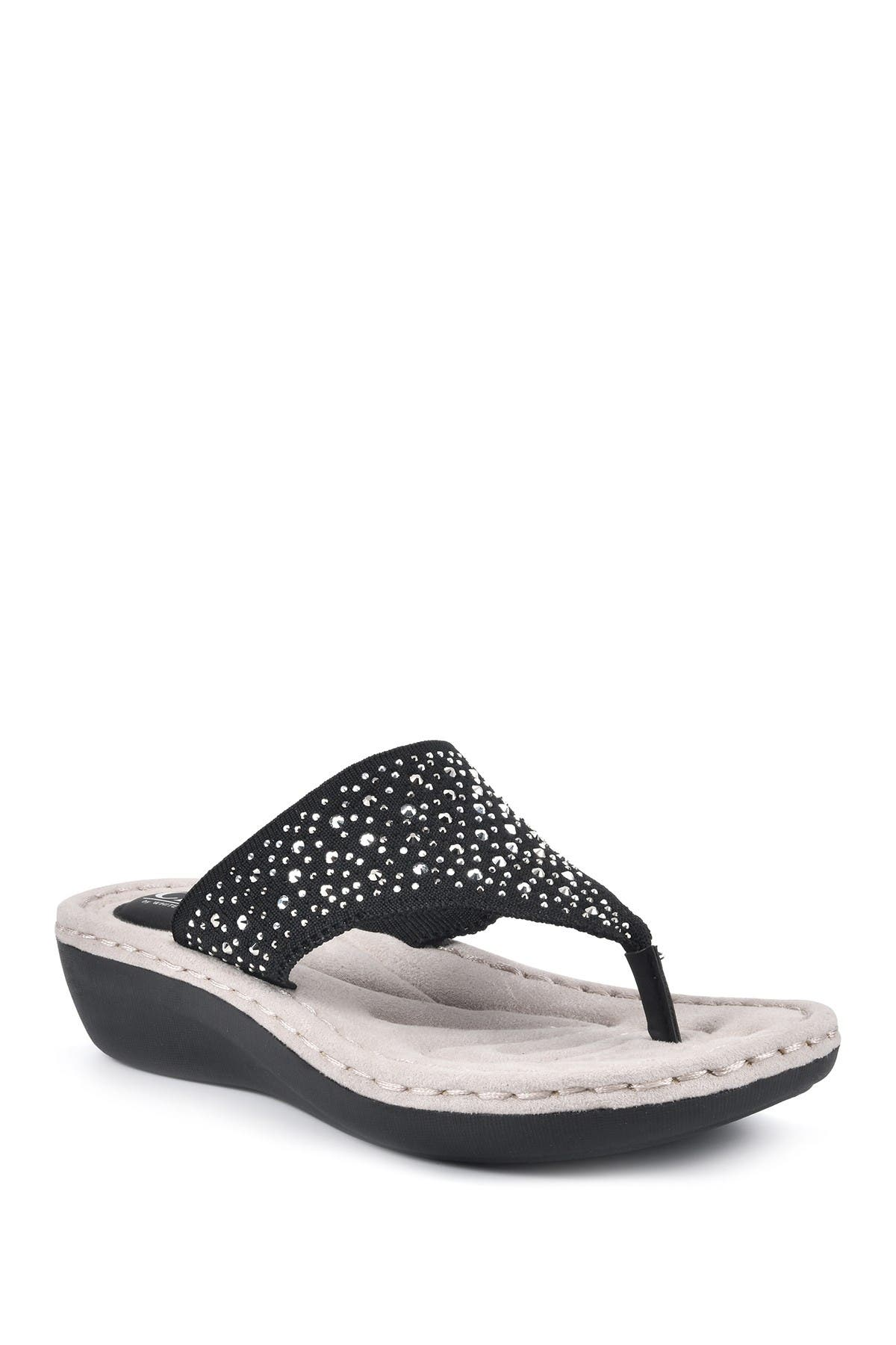 Cliffs By White Mountain CALLING THONG COMFORT SANDAL