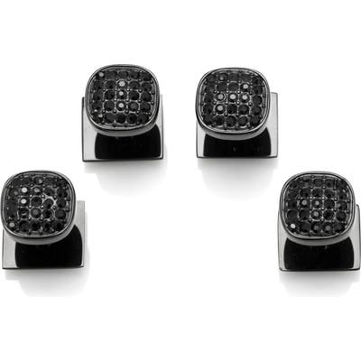 Cufflinks, Inc. Pave Crystal Shirt Stud Set