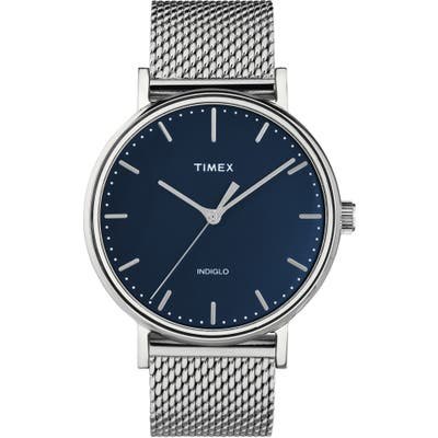 Timex Fairfield Mesh Strap Watch, 41mm
