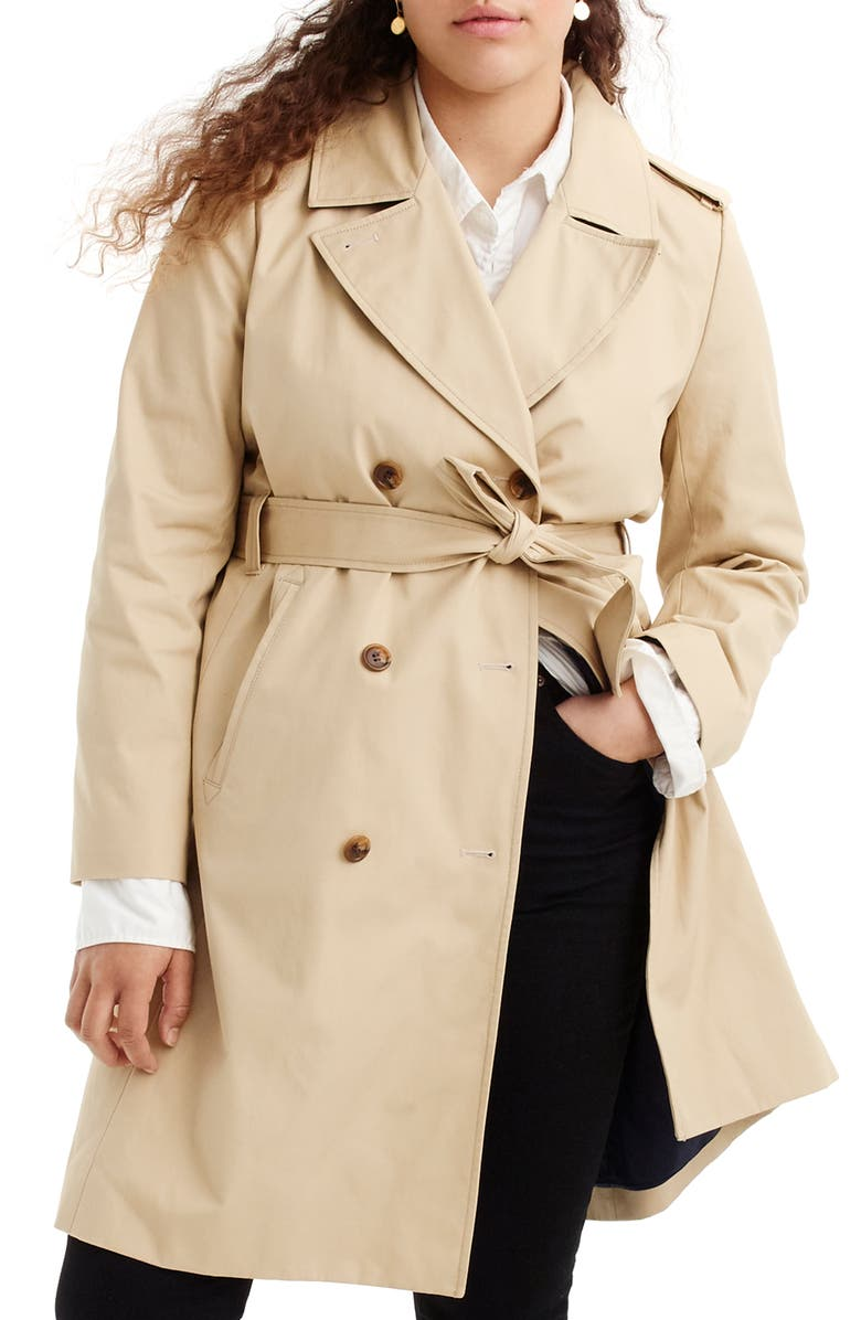 J.CREW 2011 Icon Trench Coat, Main, color, 250