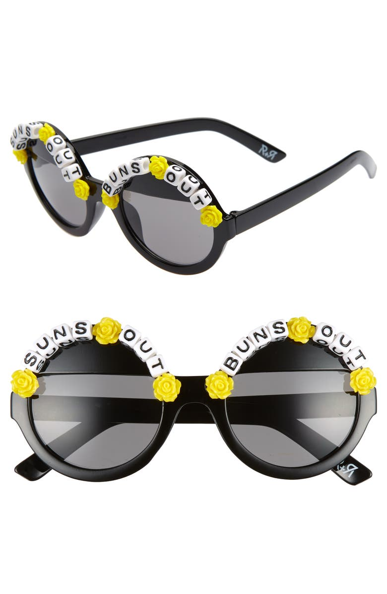 RAD + REFINED Suns Out Buns Out, Main, color, BLACK / YELLOW