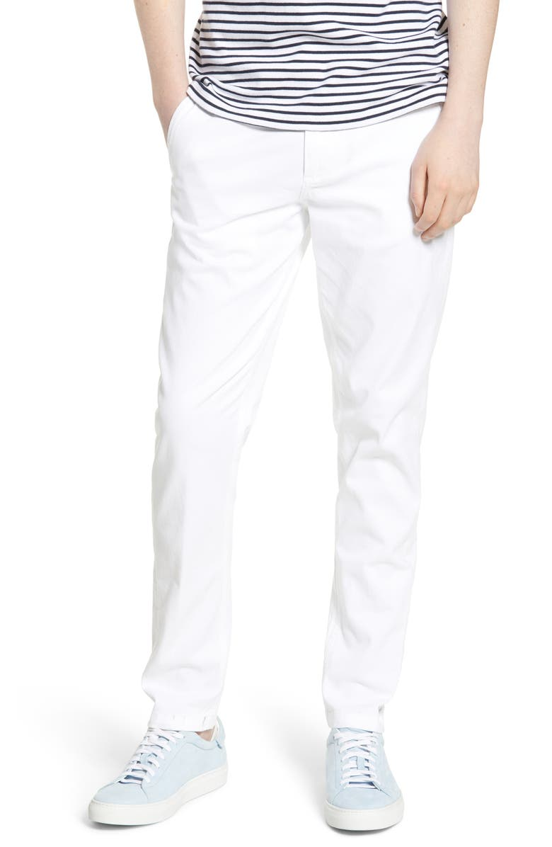 WAX LONDON Strood Slim Fit Chinos, Main, color, 100