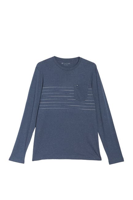 Image of TRAVIS MATHEW Square Off Chest Patch Pocket T-Shirt