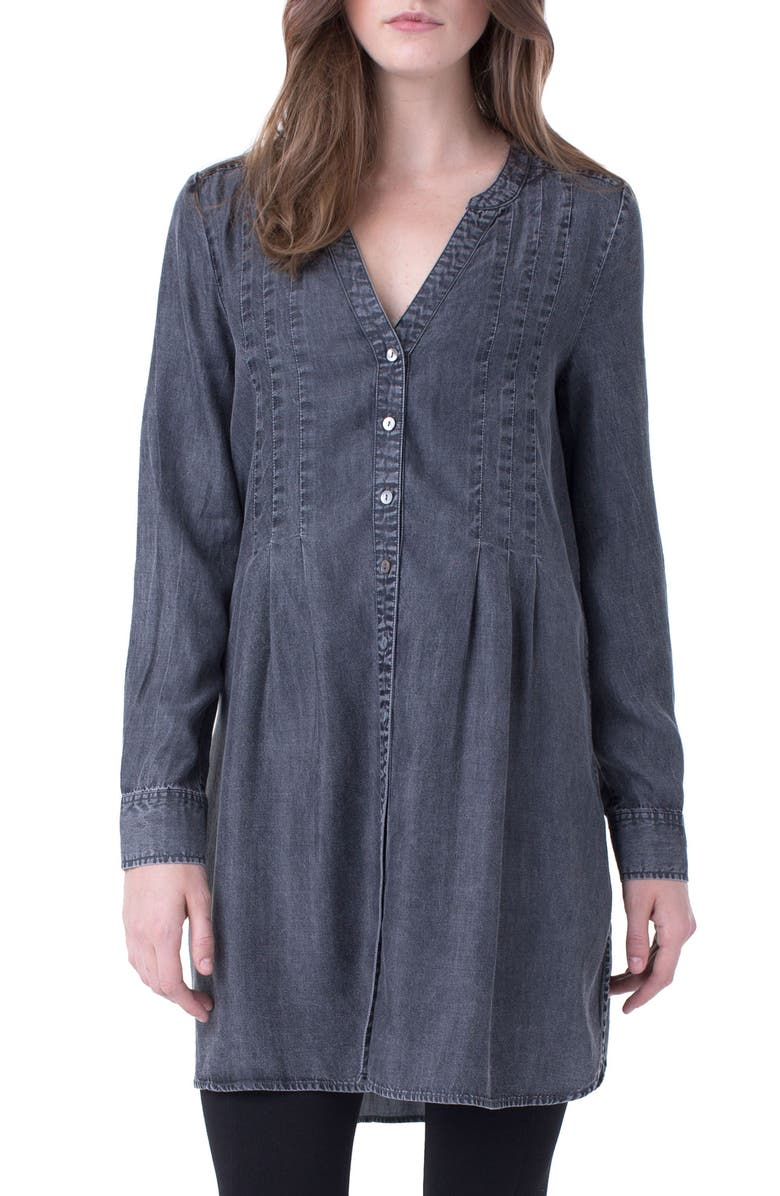Liverpool Release Pleat Tunic Top