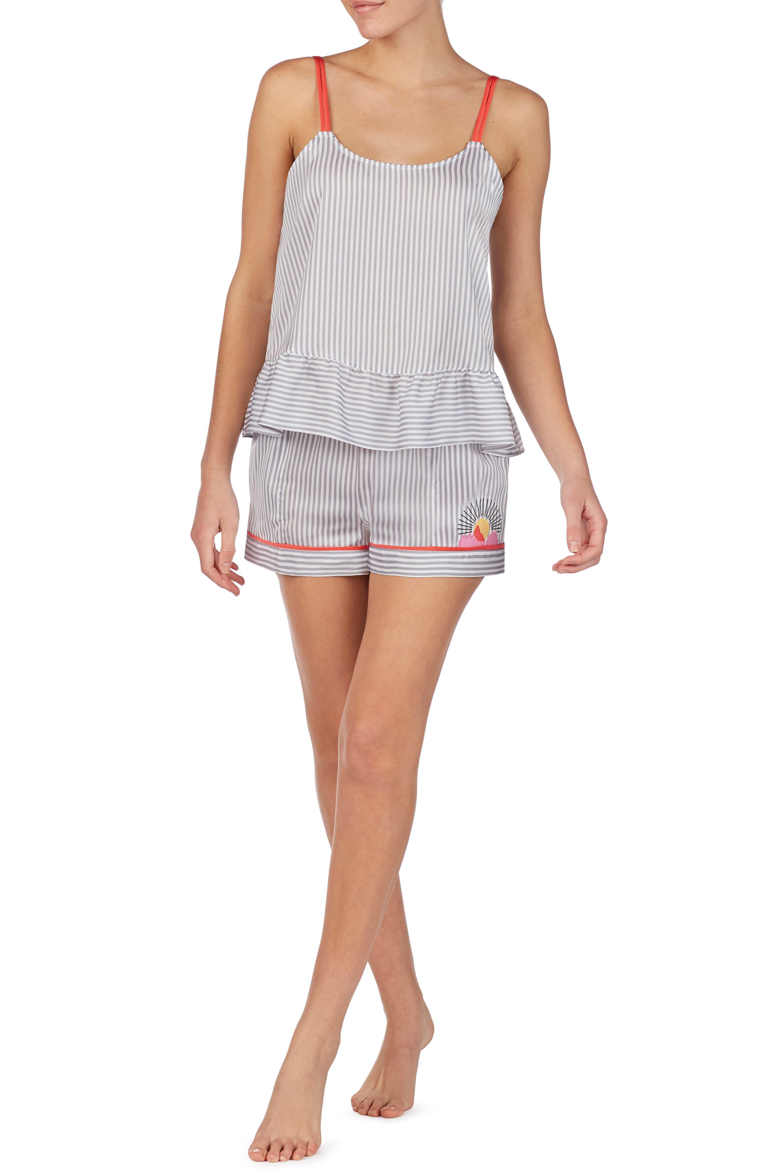 Room Service Short Pajamas, Grey (Nordstrom Exclusive)