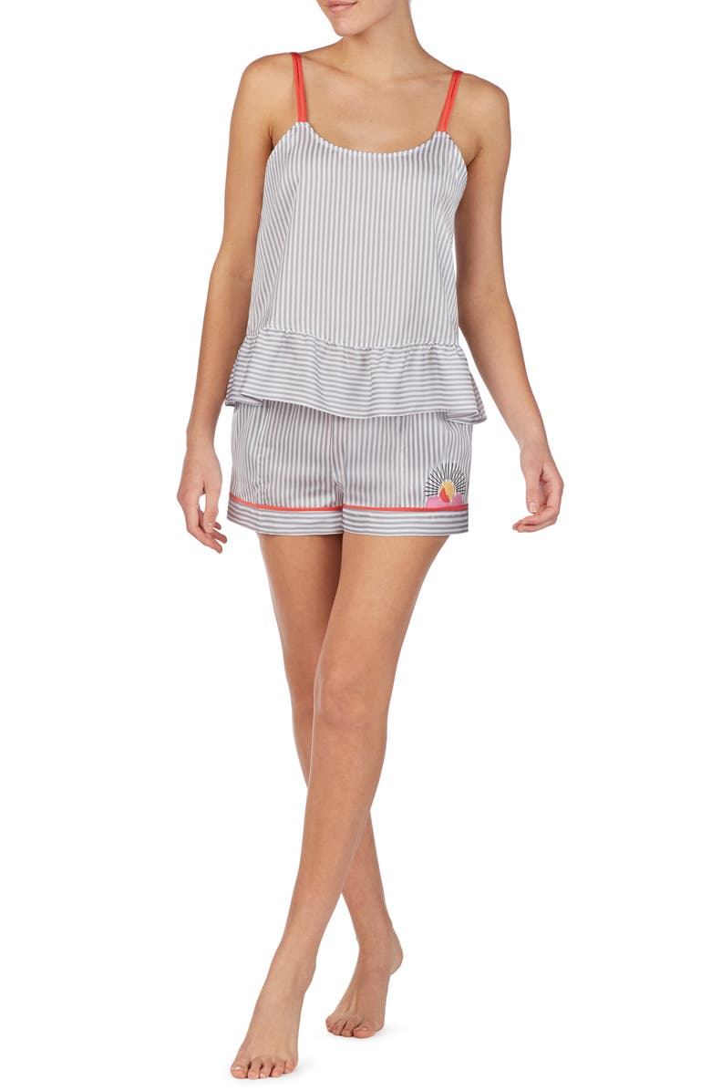 ROOM SERVICE Short Pajamas, Main, color, 020