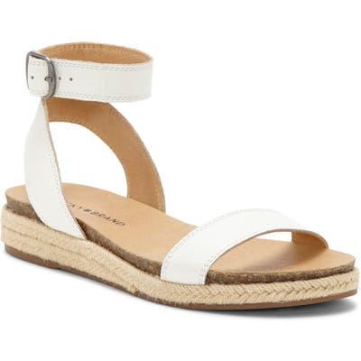 Lucky Brand Garston Espadrille Sandal, White